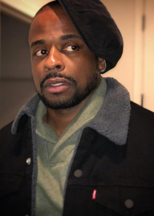 Dulé Hill in an Instagram post as seen in December 2018