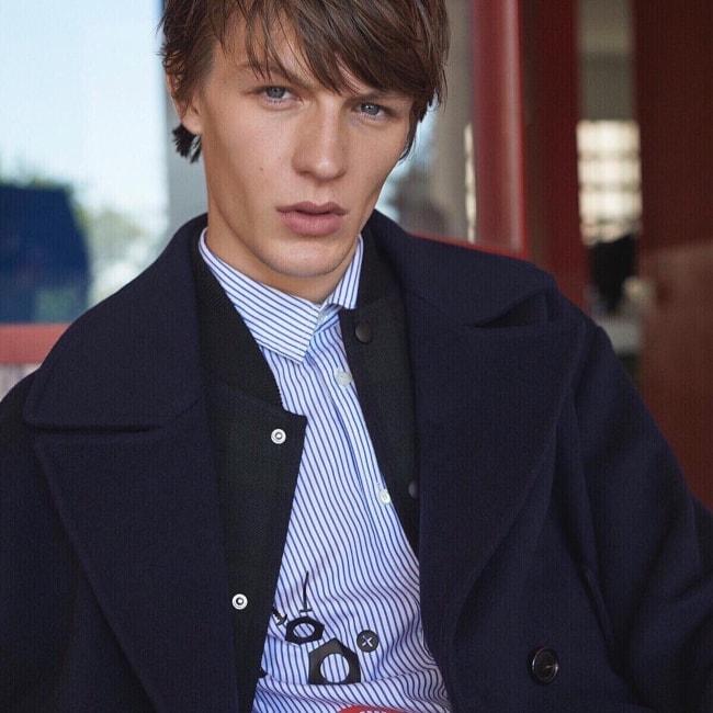 Finnlay Davis looking gorgeous