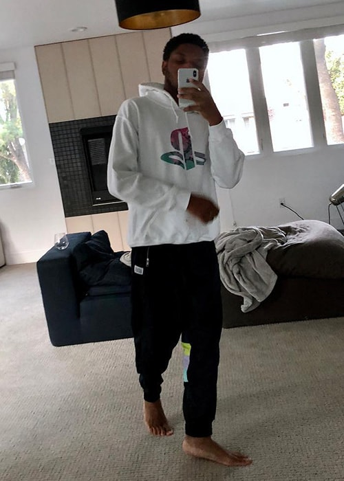 Gallant as seen on his Instagram Profile in November 2018