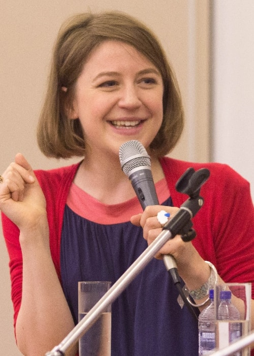 Gemma Whelan as seen while speaking at Antwerp Convention 2014