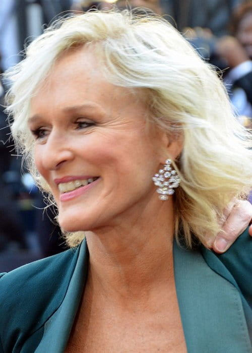 Glenn Close at the 84th Annual Academy Awards Red Carpet in 2012