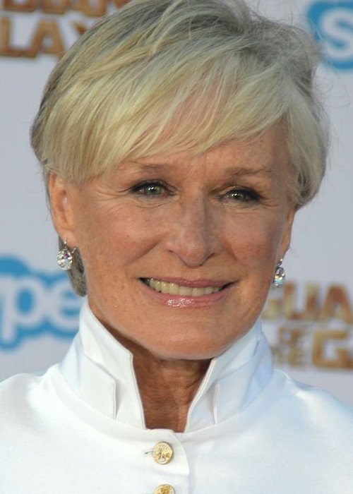 Glenn Close at the premiere of Guardians of the Galaxy in July 2014