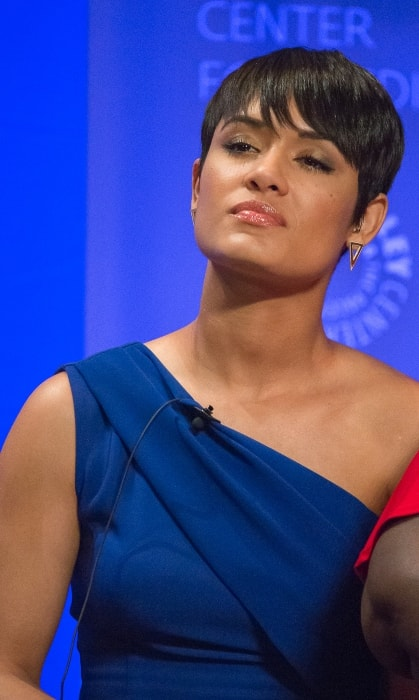 Grace Byers as seen at PaleyFest Los Angeles in March 2016