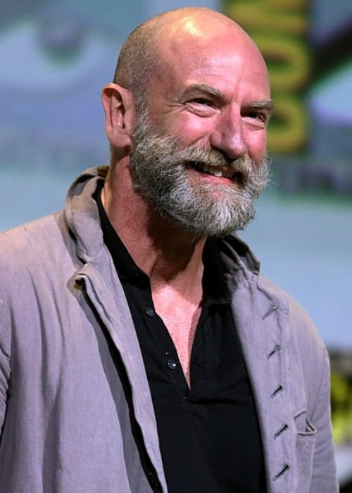 Graham as seen in a picture taken at the 2016 San Diego Comic-Con International in San Diego, California