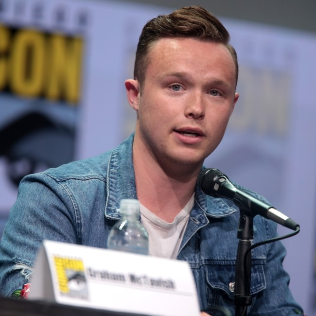Ian Colletti as seen in a picture taken at the San Diego Comic Con International, for Preacher in July 2017