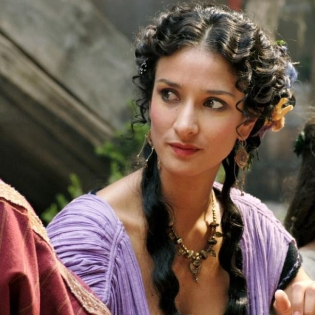 Indira Varma looking beautiful