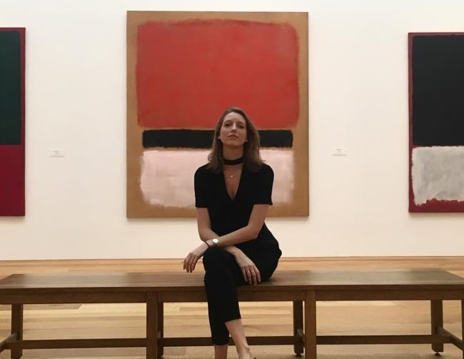 Iris Egbers at the National Gallery of Art in June 2017