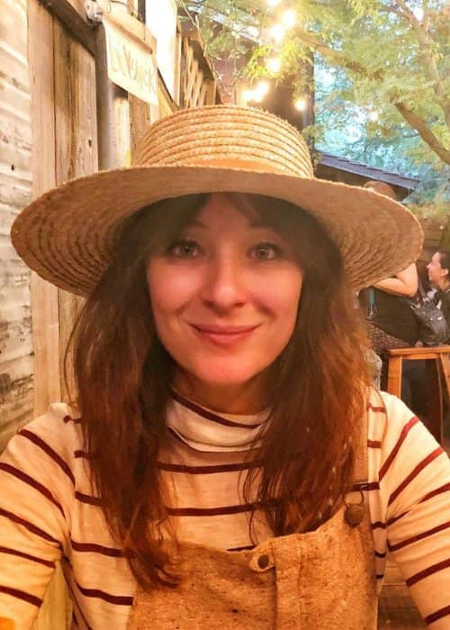 Isidora Goreshter in an Instagram post in November 2017