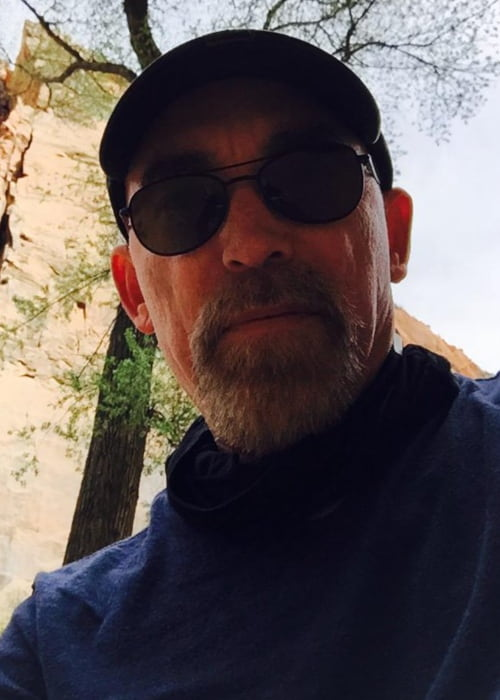 Jackie Earle Haley in a selfie as seen in April 2015