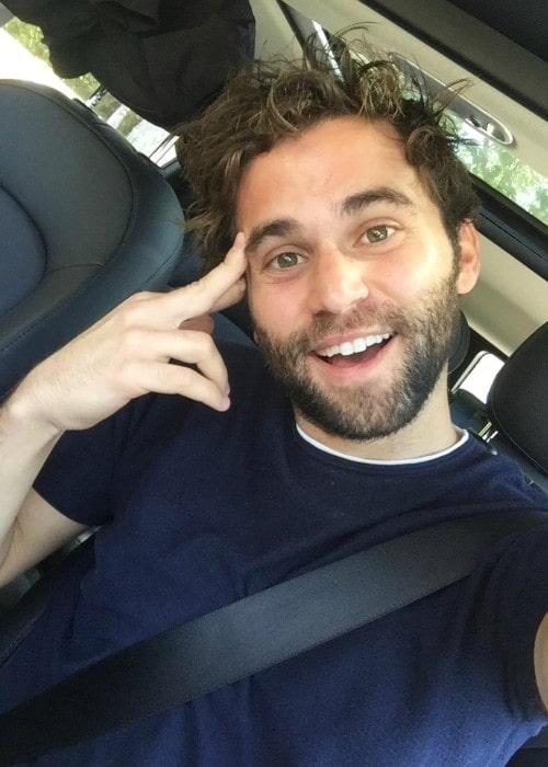 Jake Borelli as seen in a selfie in August 2018