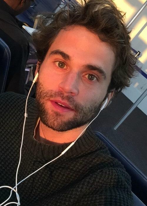 Jake Borelli as seen in an Instagram selfie in September 2018