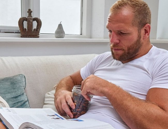 James Haskell as seen in January 2019