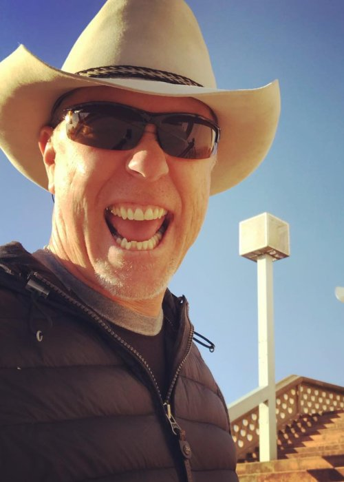 James Hetfield in an Instagram selfie as seen in February 2018