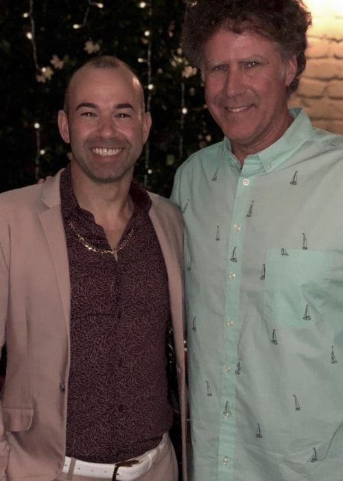 James Murray as seen in a picture with Will Ferrell in June 2018