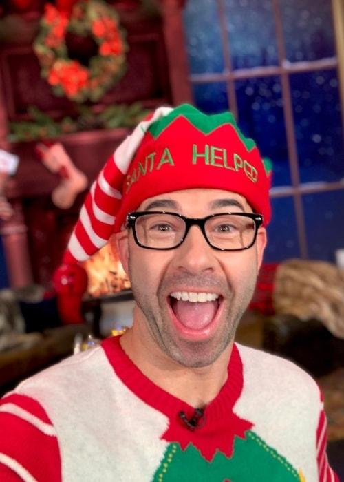 James Murray in a Selfie in December 2018