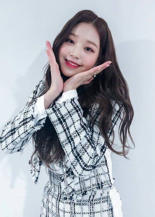 Jang Wonyoung as seen in February 2019