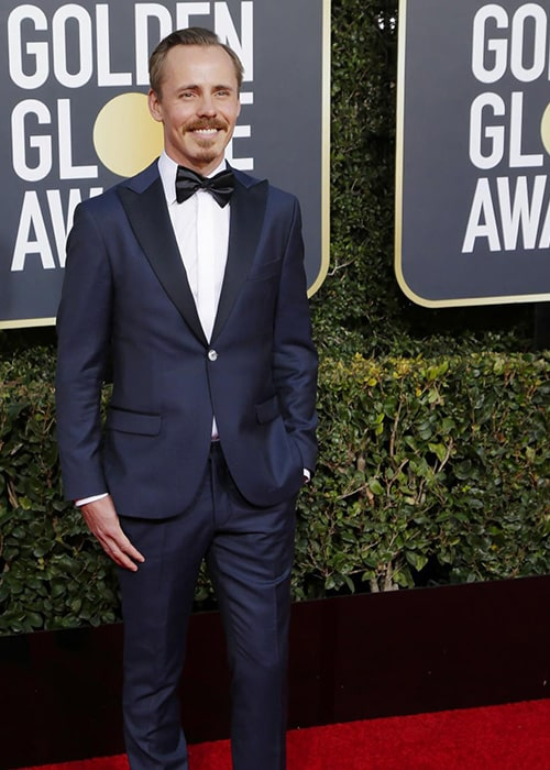 Jasper Pääkkönen at Golden Globes 2019