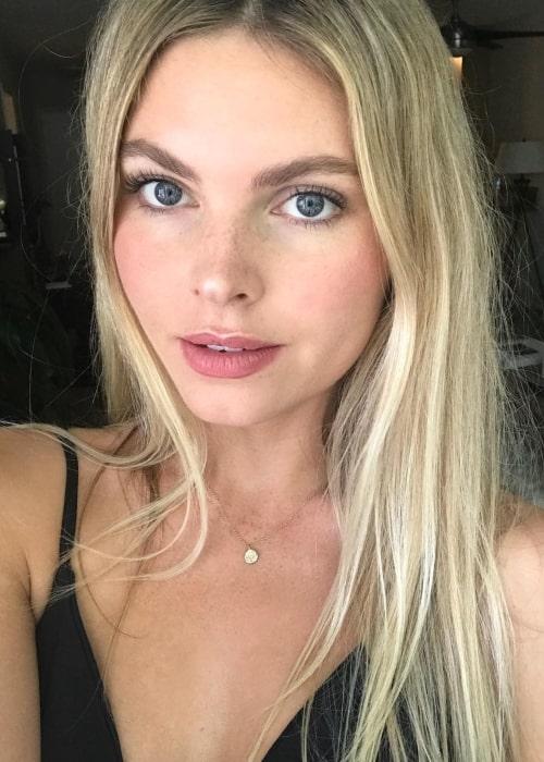 Jayla Harnwell in a selfie in November 2018