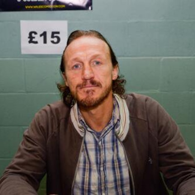 Jerome Flynn at the Comic-Con in Wales in June 2013