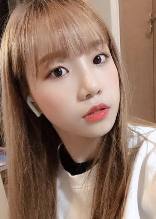 Jo Yuri in an Instagram selfie as seen in January 2019