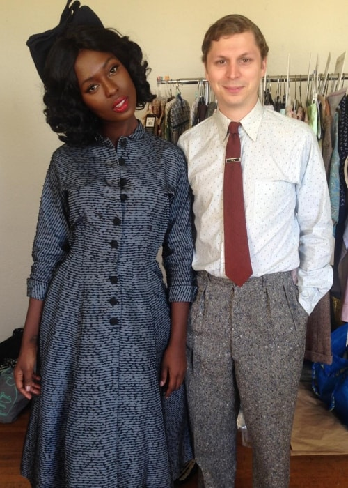 Jodie Turner-Smith as seen in a picture with Michael Cera on February 8, 2016