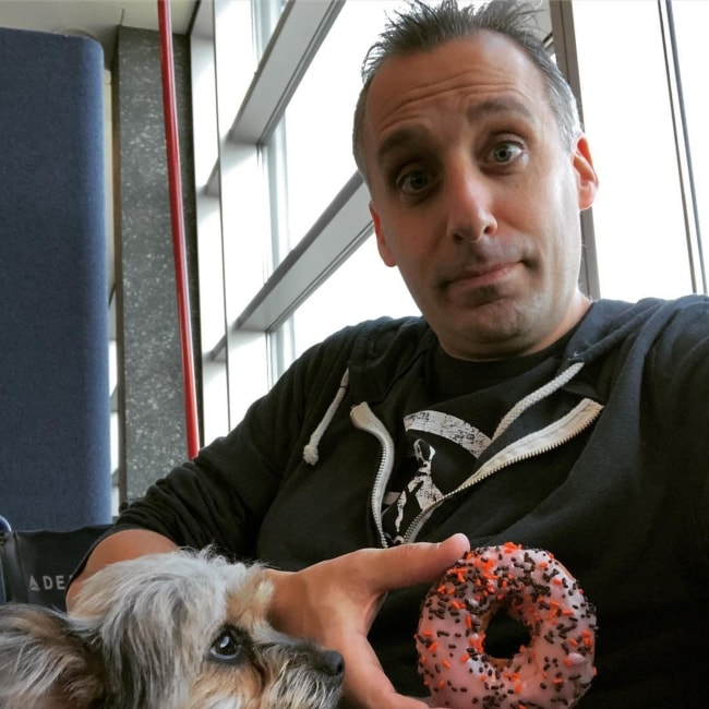 Joe Gatto in a selfie in October 2018