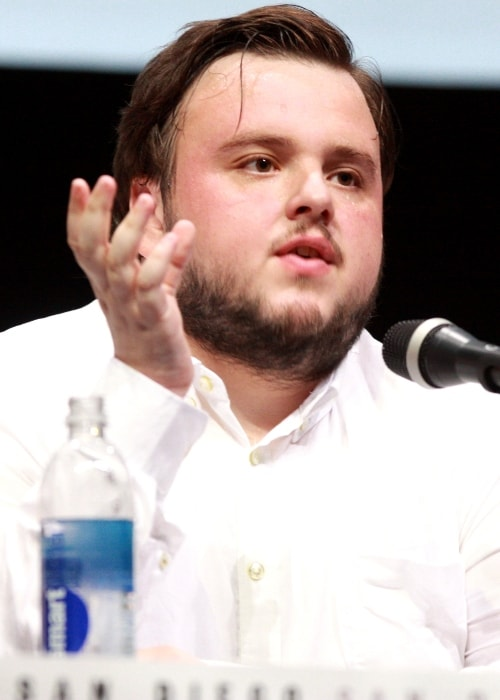 John Bradley as seen at the 2013 San Diego Comic-Con International for 'Game of Thrones'
