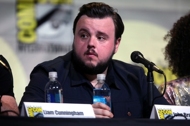 John Bradley at the 2016 San Diego Comic-Con International for 'Game of Thrones'