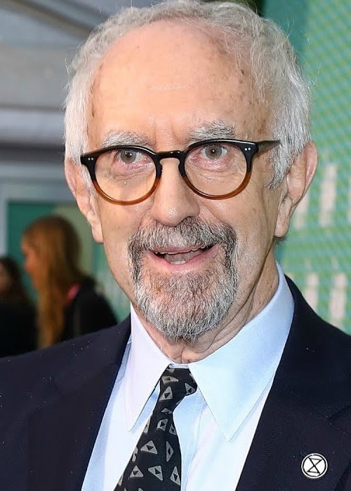 Jonathan Pryce during an interview in October 2019