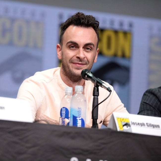 Joseph Gilgun in a picture taken at the San Diego Comic Con International, for Preacher on July 21, 2017