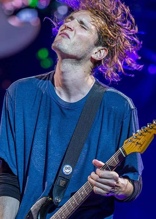 Josh Klinghoffer during a performance at the Rock im Park in June 2016