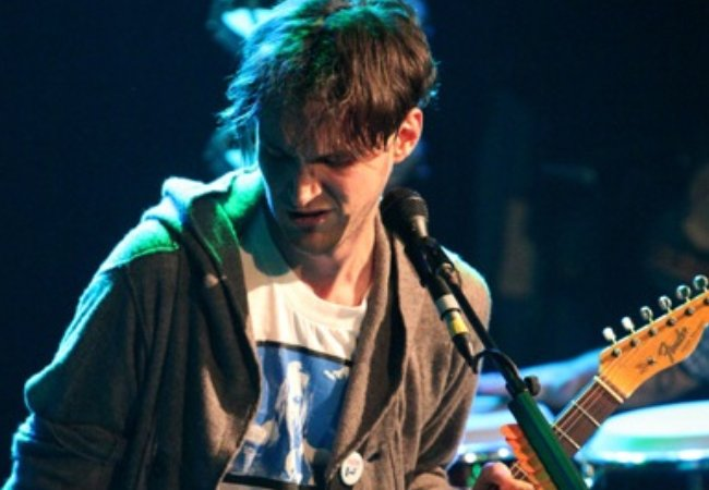 Josh Klinghoffer during a performance in September 2011