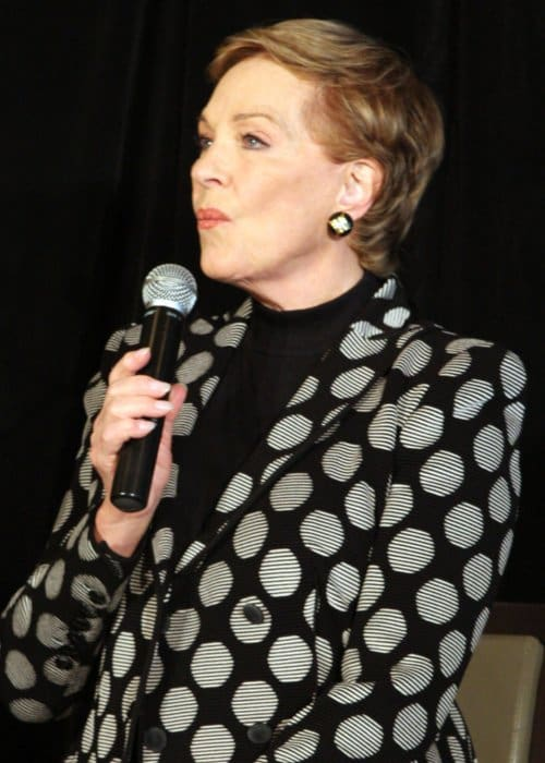 Julie Andrews as seen in May 2013