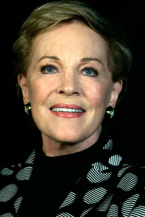 Julie Andrews during a media conference at Park Hyatt in May 2013