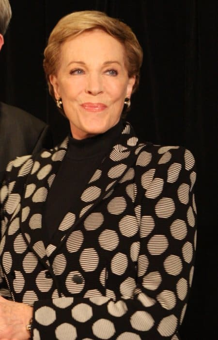Julie Andrews during an event in May 2013