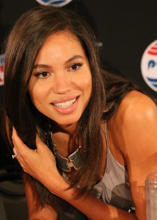 Jurnee Smollett-Bell as seen at the 'Underground' panel during the 2015 New York Comic-Con on October 11, 2015
