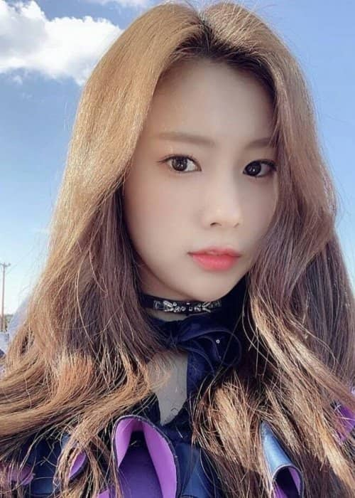 Kang Hyewon in a selfie as seen in February 2019