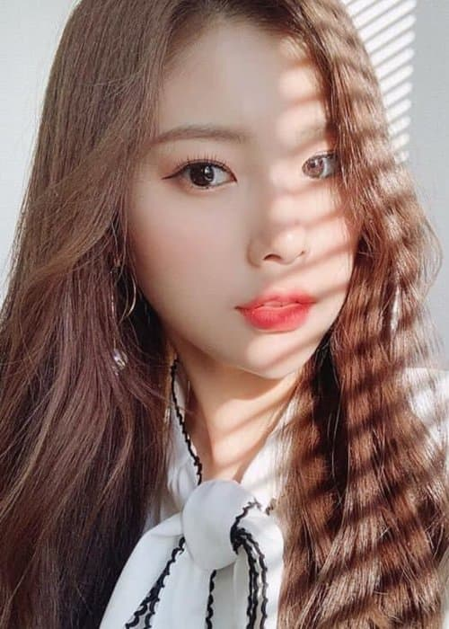 Kang Hyewon in an Instagram selfie as seen in January 2019