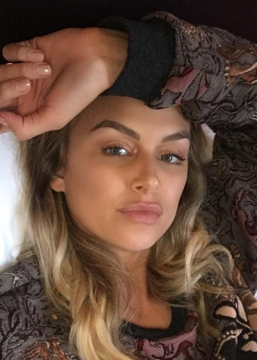 Lala Kent in a selfie in March 2018