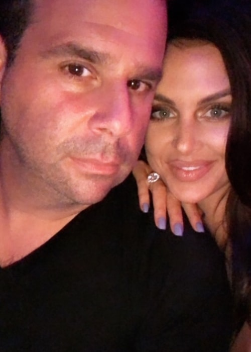 Lala Kent with Randall Emmett in a selfie in October 2018