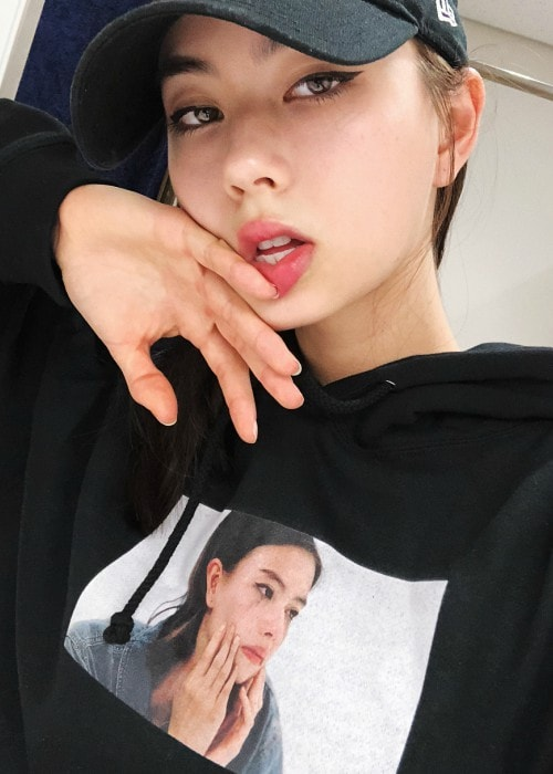Lauren Tsai as seen in an Instagram selfie in August 2018