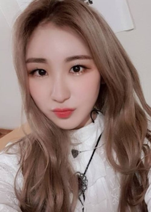 Lee Chaeyeon in an Instagram selfie as seen in December 2018