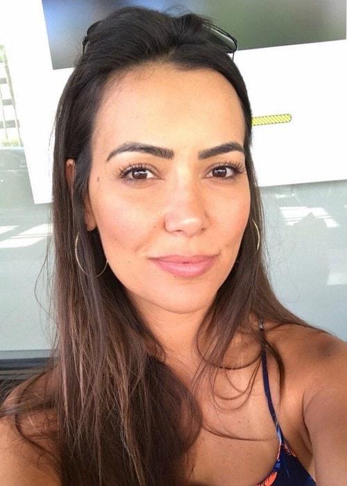 Luciana Andrade as seen in January 2019