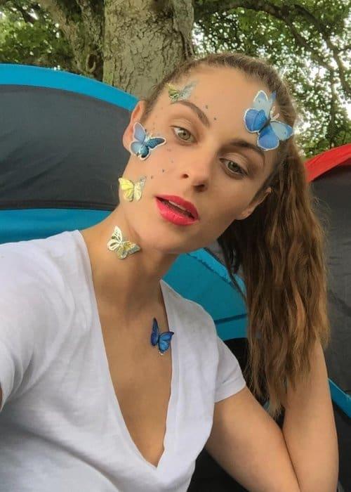 Madeline Mulqueen in a selfie in September 2017