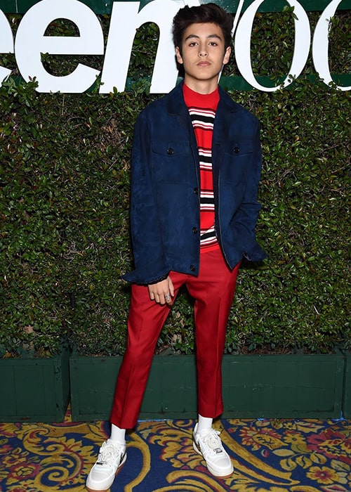 Marcel Ruiz in a Teen Vogue Event as seen on his Instagram Profile in February 2019