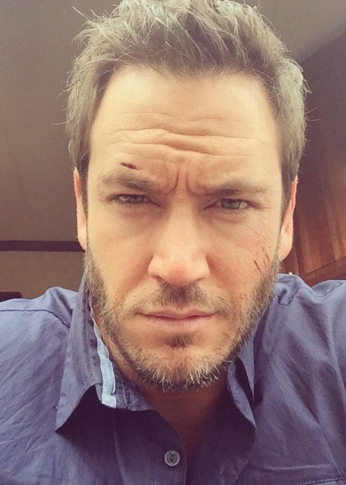 Mark-Paul Gosselaar in an Instagram selfie as seen in June 2015