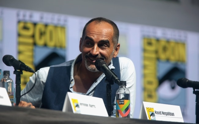 Navid Negahban as seen at the 2018 San Diego Comic-Con International for 'Legion'
