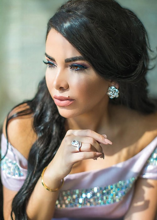 Nayer as seen on her Instagram in August 2018