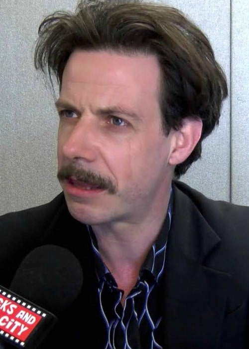 Noah Taylor during an interview as seen in May 2014