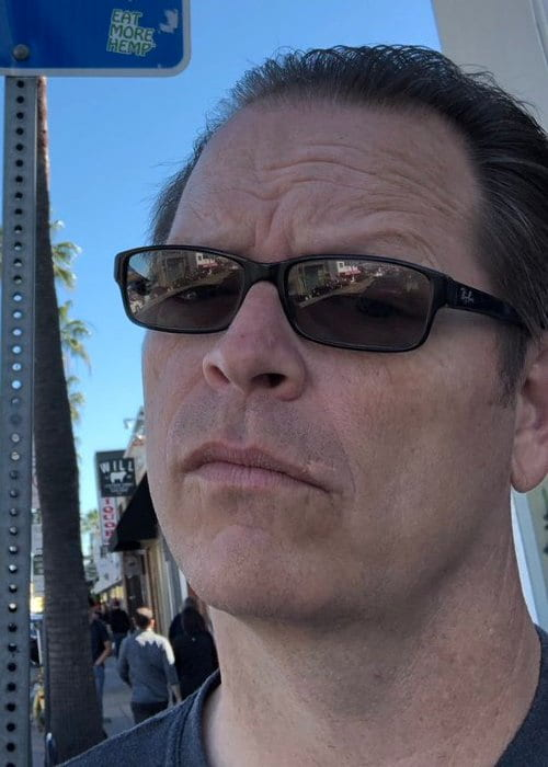 Patrick Wilson in a selfie as seen in January 2019
